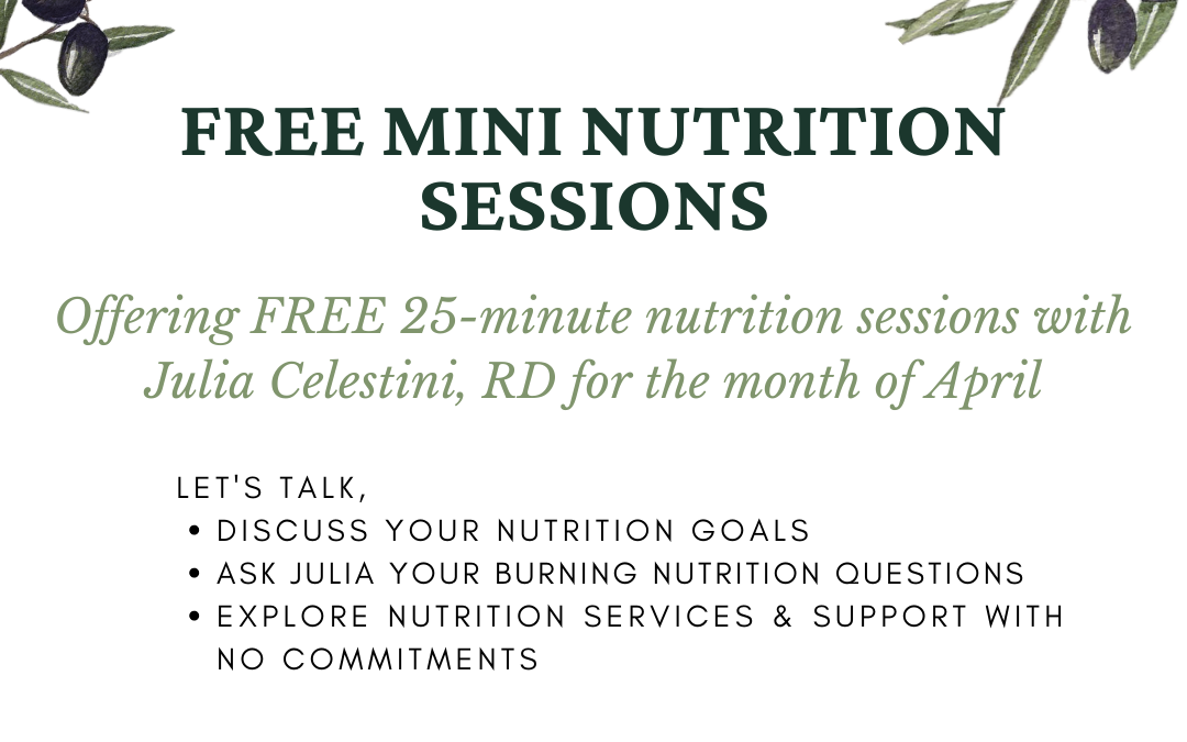 FREE Mini Nutrition Sessions