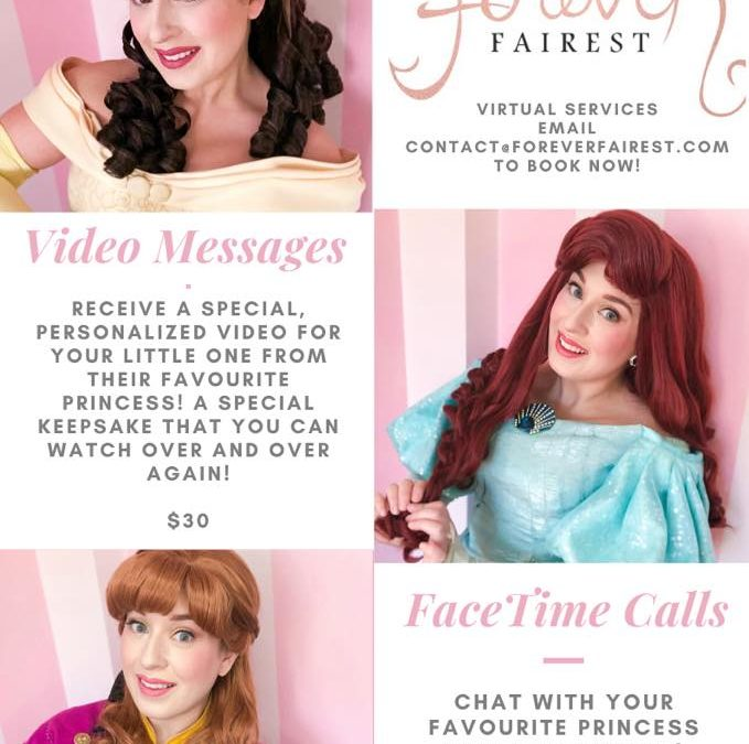 Princess Personalized Video Messages and Princess Video Calls